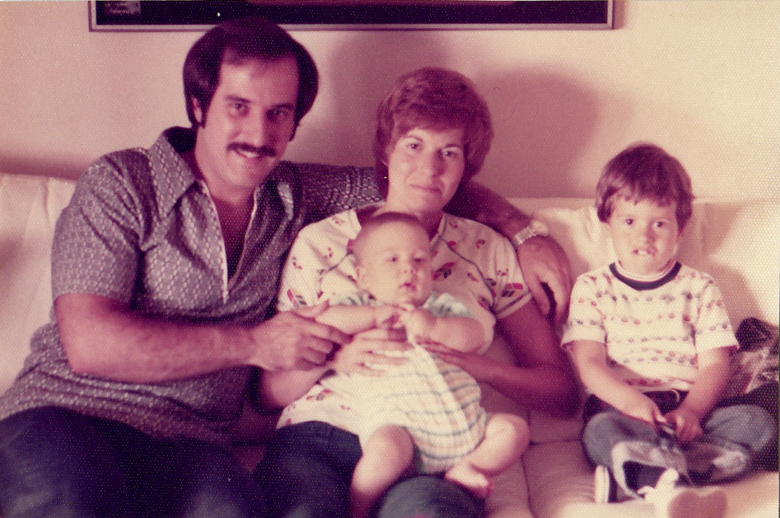 1974 Joe, Marcia, Jason, Stephen